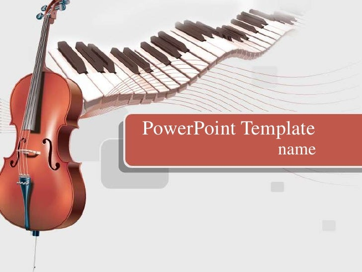 Music   Family PPT template