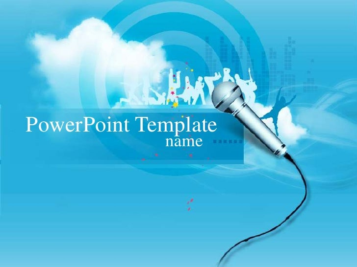 Music   Soft PPT template