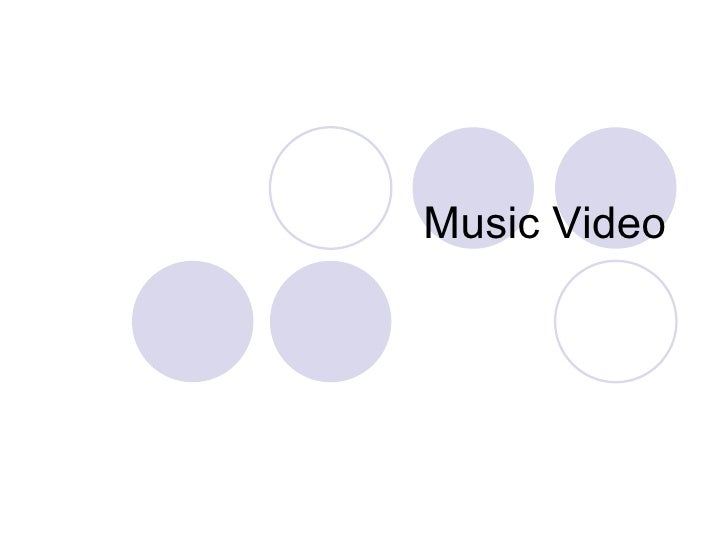 Music Video Intro And Intertextuality.Ppt