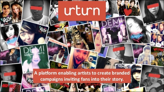 A  pla&orm  enabling  ar/sts  to  create  branded   campaigns  invi/ng  fans  into  their  story. ...