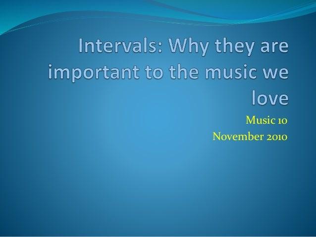 Music 10 November 2010