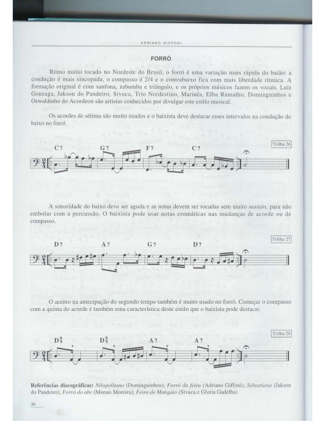 Musica Brasileira para Contrbaixo - Adriano Giffoni - Parte do Forró