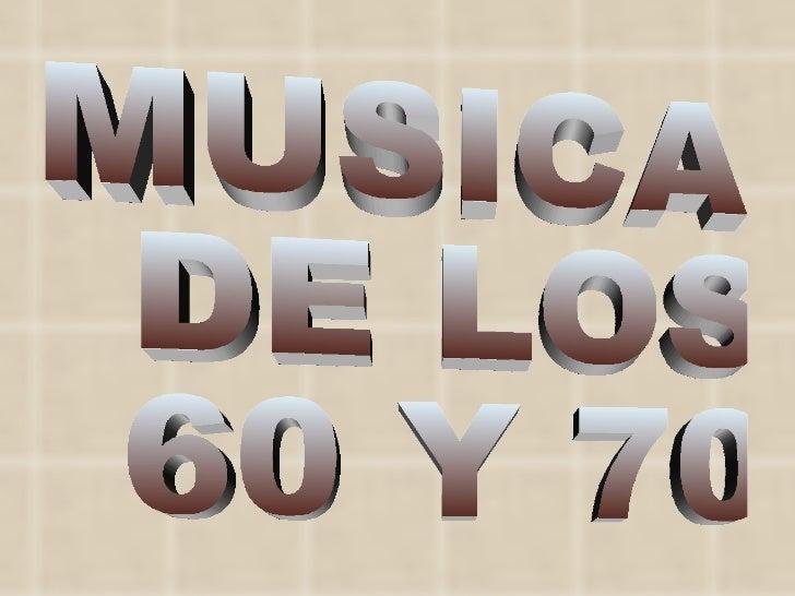 Musica De Los 60 Y 70