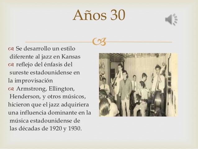Musica En Decadas 30 40 50 60 70 Y 80