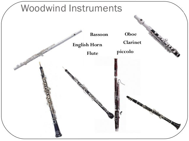 Pics For > Woodwind Instruments Names