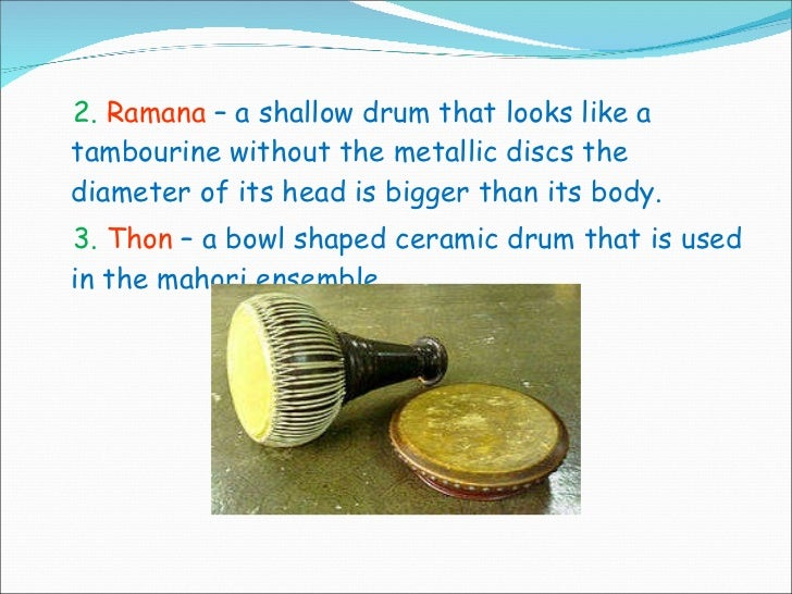 Musical Instrument Of Thailand