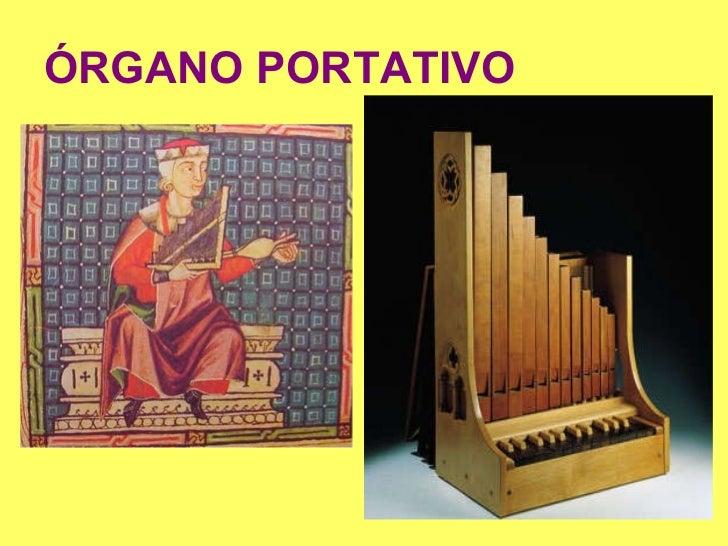 La m sica de lorena edad media for L organo portativo