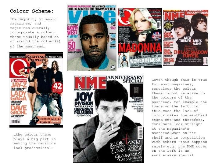 [Music+School]Magazine Analysis: