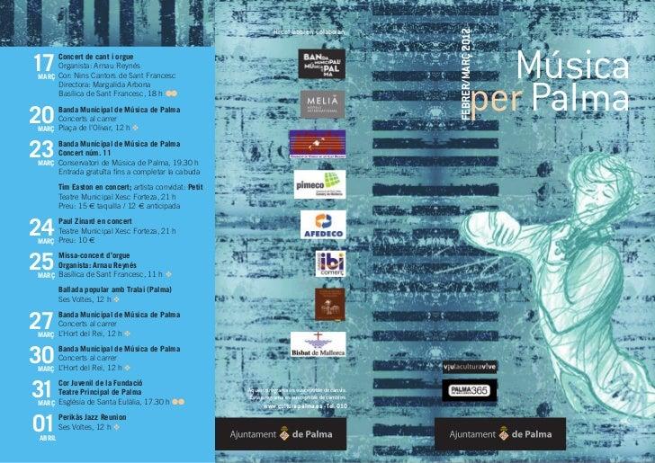 Musica per Palma | Ajuntament de Palma