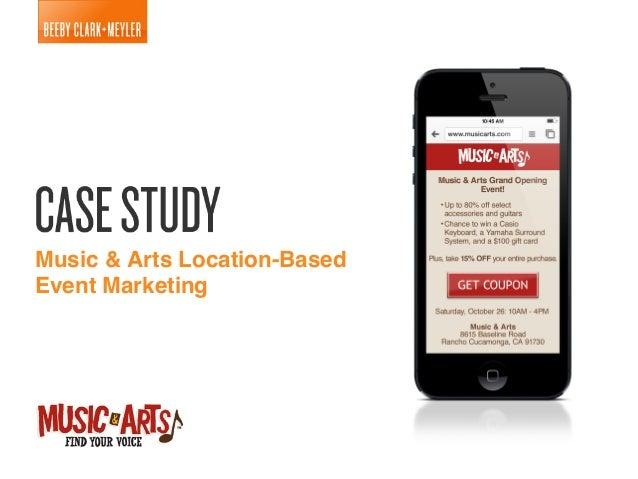 Music & Arts Location-Based Event Marketing Case Study