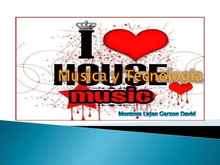 Existen otras muchasvinculaciones entre elfenómeno musical y latecnología como eluso de la música enradio, televisión, cin...