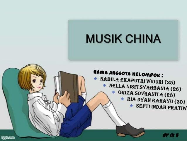 Music china adalah musik yang berasal dari China