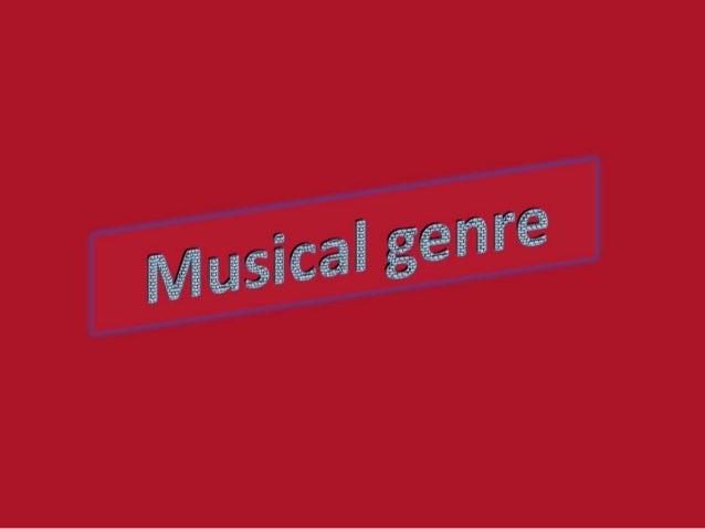 Musicgenres