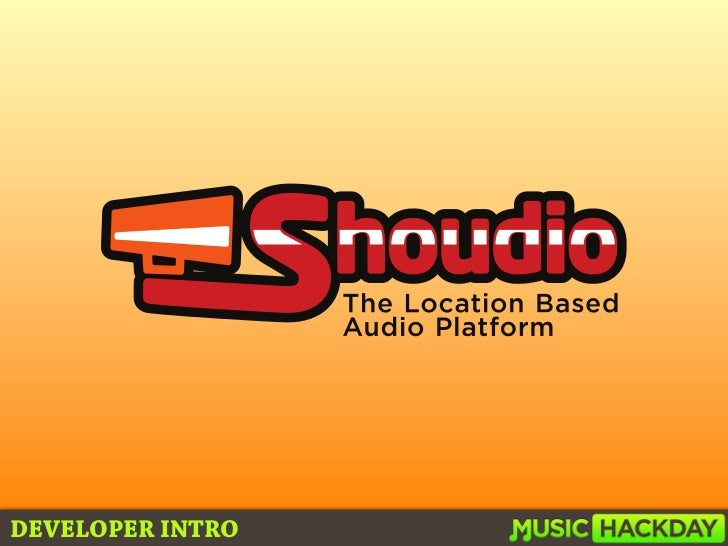 Shoudio Music Hackday Boston 2011