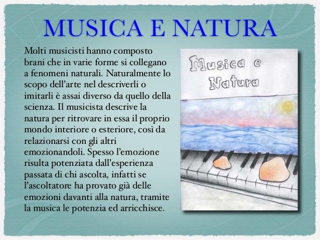 Musiche e natura