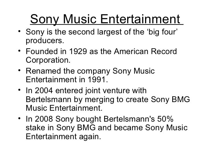 The sony corporation a case study in transnational media management