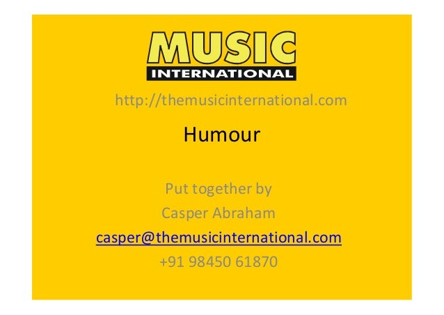Music international humour collection 2014
