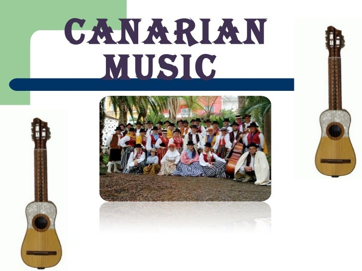 Music in the canary islands