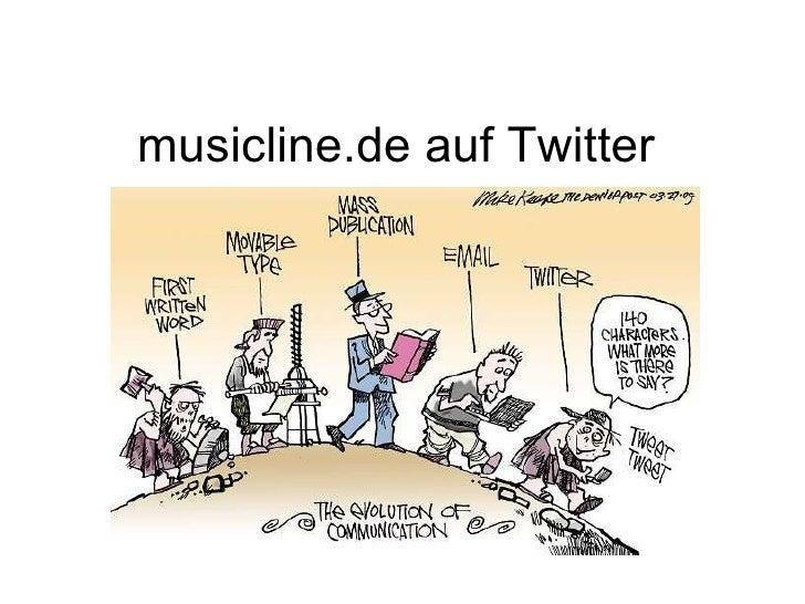 musicline.de auf Twitter