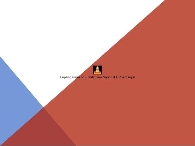 Lupang Hinirang - Philippine National Anthem.mp4