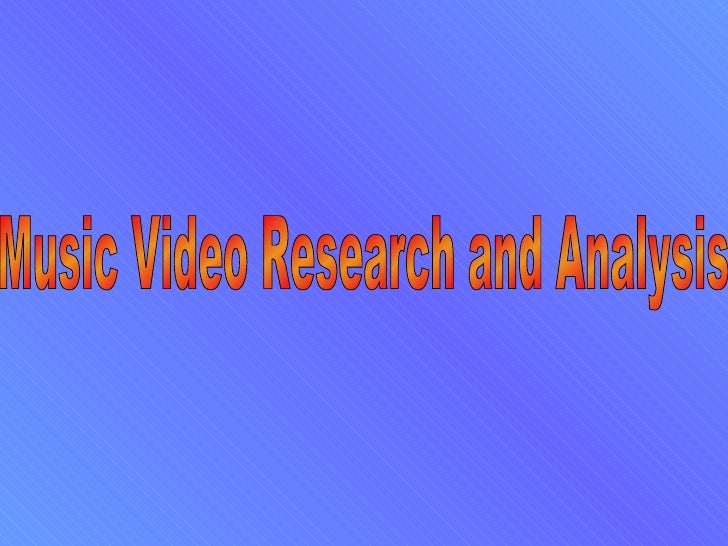 What are Music Videos?A Music Video is a song combined with images made for artistic andpromotional purposes. They are als...