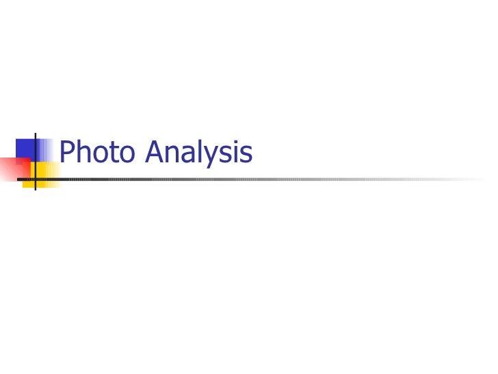 Music magazine photo analysis