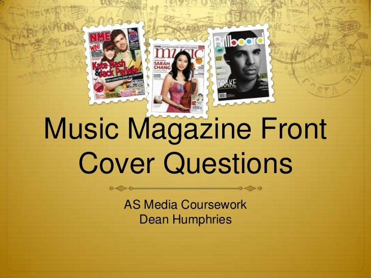 Music magazine questions?