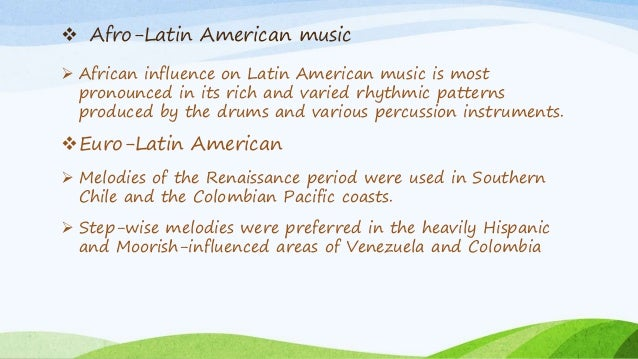 latin music essay Latin music and jazz music latin write a short research essay on the latin american composer of your choice be sure to include the following.