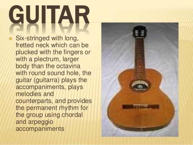 Most important guitar