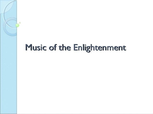 Music of the Enlightenment