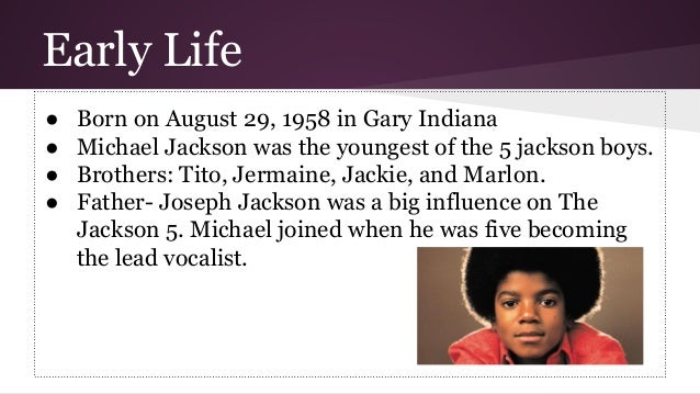 essay on biography of michael jackson February is black history month michael jackson broke a number of barriers for  african americans including being the first black artist to have a video shown on .