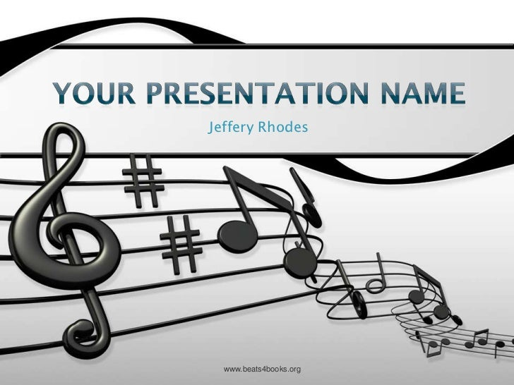 Music program presentation info