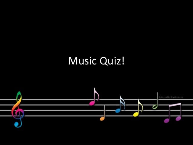 quizzes tests music