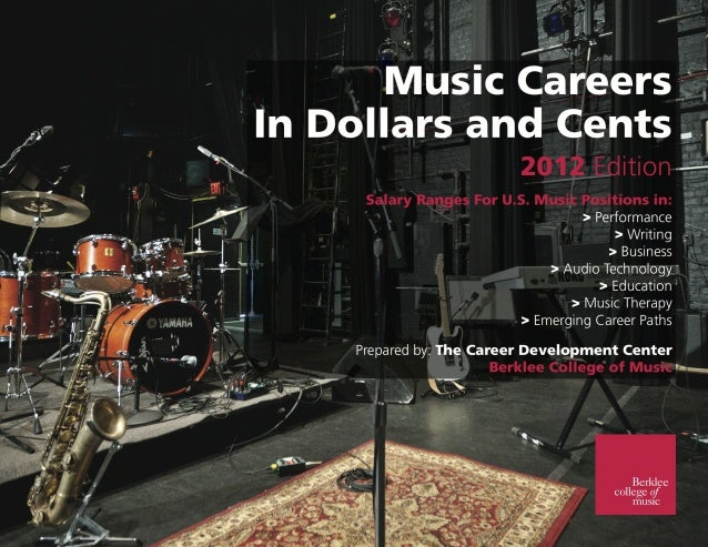 !  TABLE OF CONTENTS Positions and Salaries in the Music Industry 2012 ! ! ! ! ! ! !  Performance! ! ! ! ! Writing! ! ! ! ...