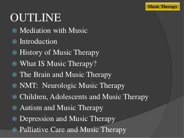 Occupational Therapy sydney uni music