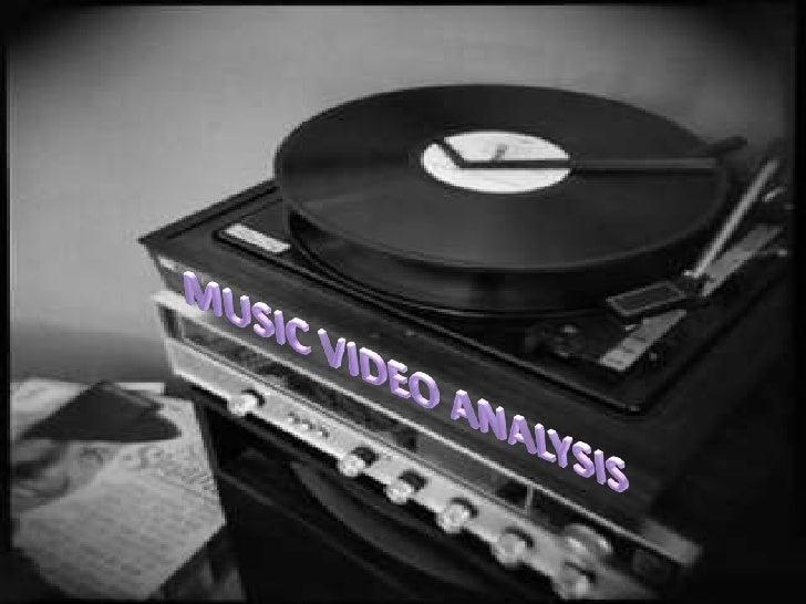 Music video analysis 2