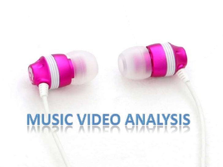Music video analysis  5