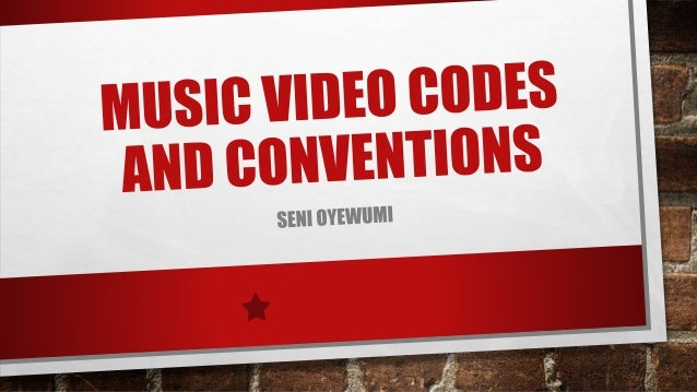 What are codes and conventions?