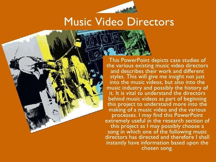 Music Video Directors