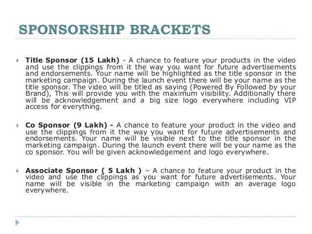 Event Sponsorship Proposal Tiredriveeasy