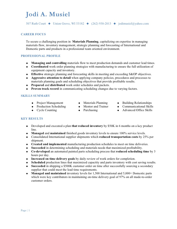 Materials Manager Resume AppTiled Com Unique App Finder Engine Latest  Reviews Market News  Materials Manager Resume