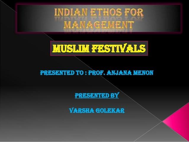 Presented to : Prof. Anjana MenonPresented byVarsha Golekar