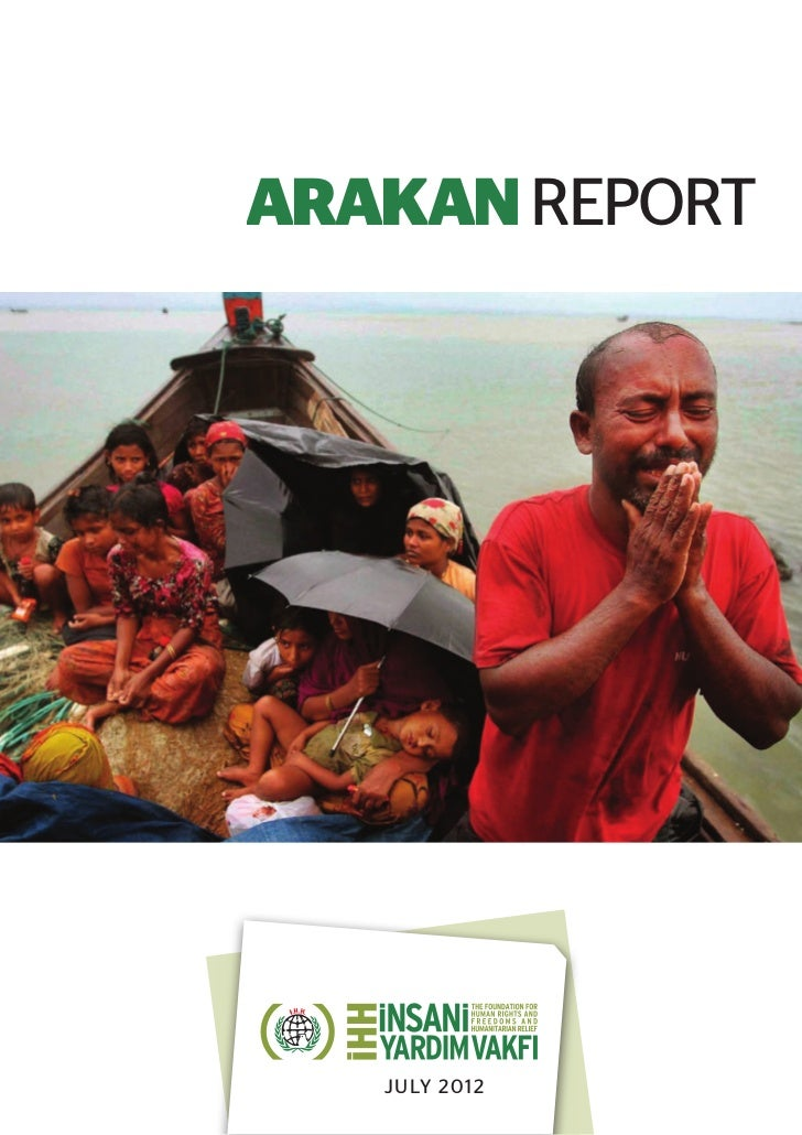 ARAKAN REPORT   JULY 2012