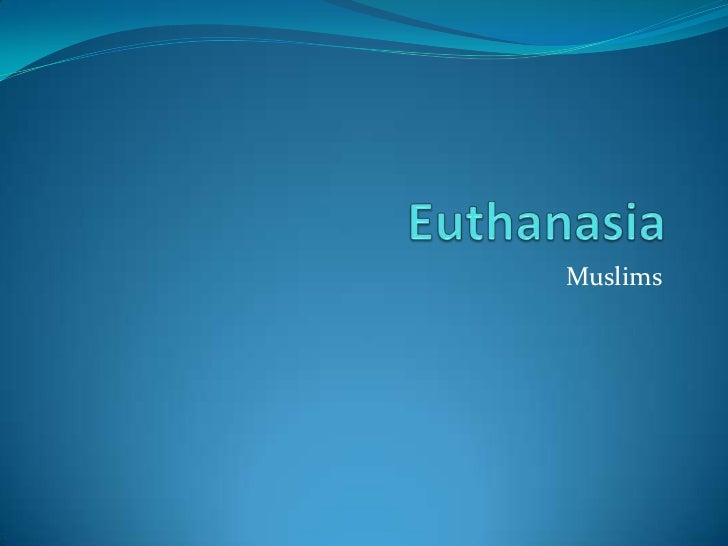 Euthanasia Persuasive Essay