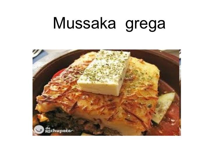 Mussaka  grega