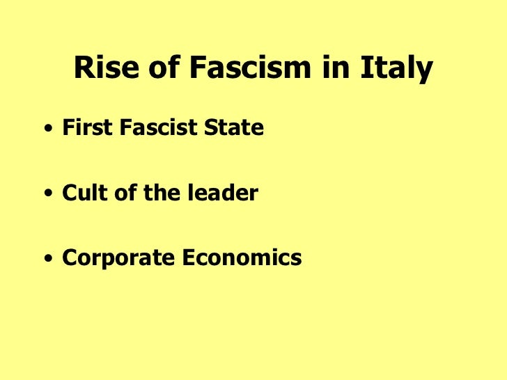 an introduction to the history of fascism Fascism: a very short introduction looks at the paradoxes of fascism through its origins in the political and social crisis of the late nineteenth century, the.