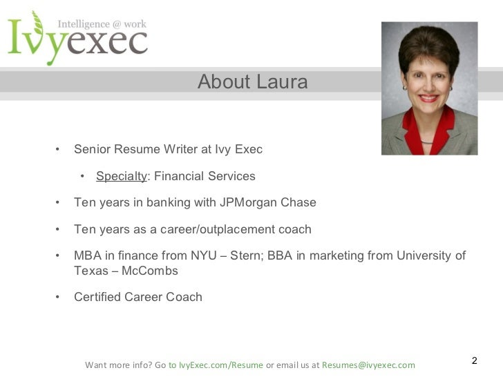 executive resume writing service chicago il