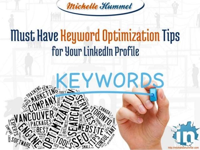 Must Have Keyword Optimization Tips for Your LinkedIn Profile