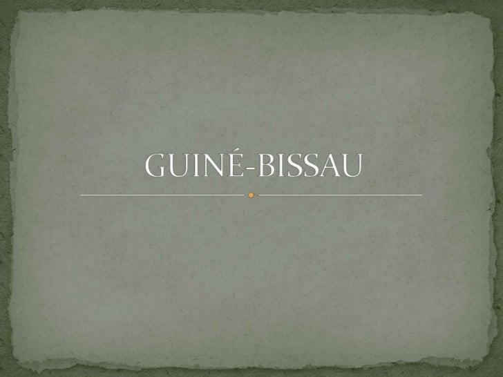 GUINÉ-BISSAU<br />