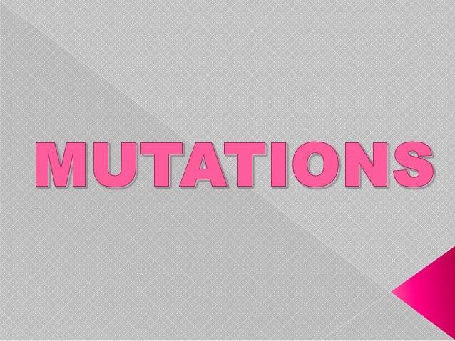 Mutations powerpoint